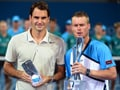 Roger Federer stunned by Lleyton Hewitt in Brisbane International final