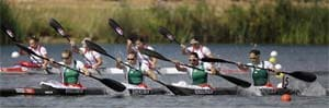 Hungary wins Olympic gold in women's K-4 500