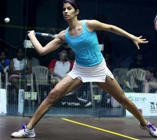 India's Squash Star Joshna Chinappa Loses in Glasgow