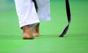 judo feet