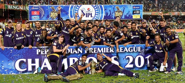 Indian Premier League Kolkata Knight Riders' Eden Bash Live