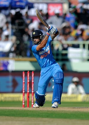 Virat Kohli out for 99, misses hat-trick of tons at Vizag