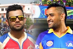 In response to MS Dhoni's mohawk, Virat Kohli sports the ...
