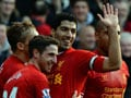 EPL: Red-hot Luis Suarez fires Liverpool to the top