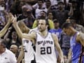 Spurs get 'nasty' to take 1-0 lead over Thunder