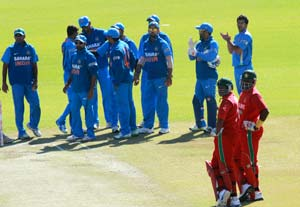 India (Ind) vs Zimbabwe (Zim) Live cricket score