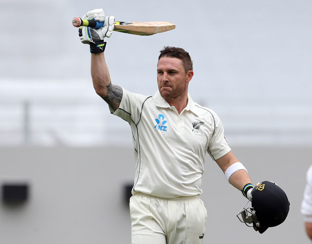 Brendon McCullum (Cricketer) playing cricket