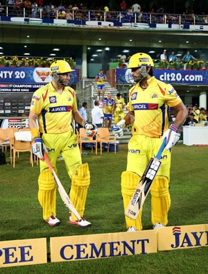 CLT20 Live Cricket Score: Chennai Super Kings vs Brisbane Heat.