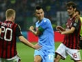 Epic win for Napoli over Milan but Roma stay top