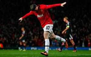 UEFA Champions League: David Moyes salutes 'world-class' Wayne Rooney
