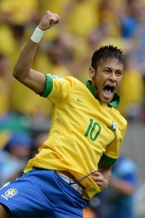 Neymar renews Brazil's number 10 love affair - Football ...  Neymar renews B...