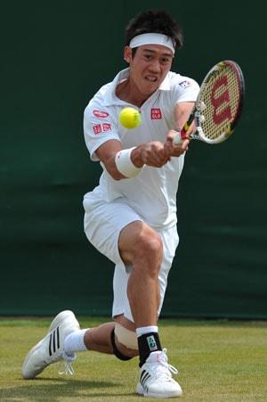 Wimbledon 2013: Kei Nishikori sweeps into third round