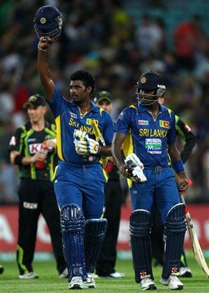 1st T20: Angelo Mathews, Thisara Perera help Sri Lanka beat Australia