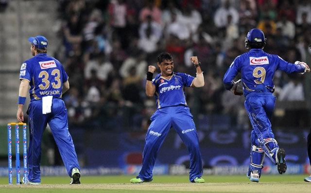 Live cricket score, Rajasthan Royals