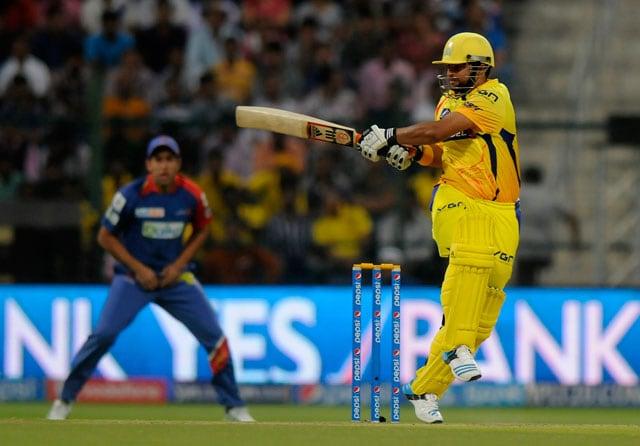 Live cricket score, Suresh Raina