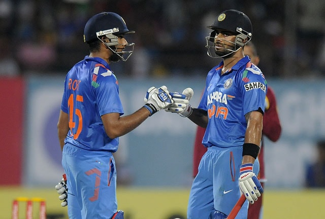 Live Cricket Score: India (Ind) vs West Indies (WI) - 1st ODI.