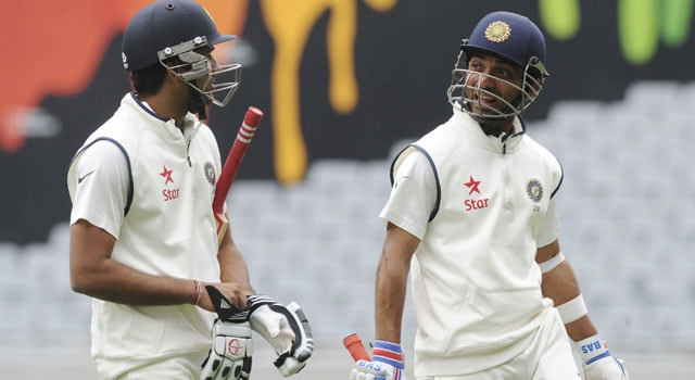 Live cricket score, Rohit Sharma and Ajinkya Rahane