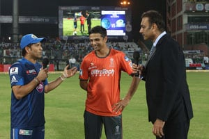 CLT20 Live Cricket Score: Rahul Dravid, Sachin Tendulkar and Ravi Shastri