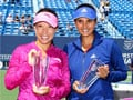 Sania Mirza-Jie Zheng win New Haven doubles title