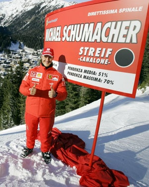 Michael Schumacher in a file pic