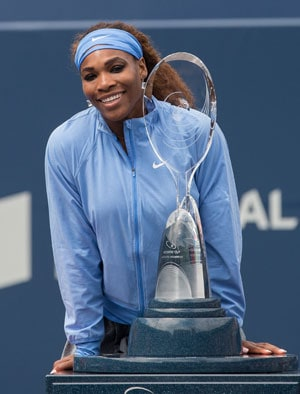 Serena races to eighth title of year in Toronto