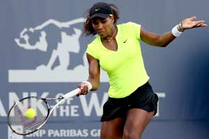 Serena eases past Cirstea to reach Stanford final