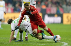 Bayern Munich lose Swiss star Xherdan Shaqiri for seven weeks