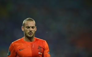 Wesley Sneijder snubbed for Netherlands friendly against Portugal