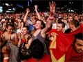 Crisis? What crisis? Spain rejoices in Euro win