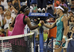 US Open: Former champion Sam Stosur dumped out by American teenager