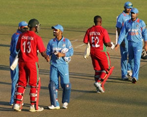 India vs Zimbabwe: Men in Blue eye series win in 3rd ODI.