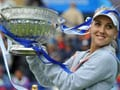 Windswept Elena Vesnina sails to Eastbourne title