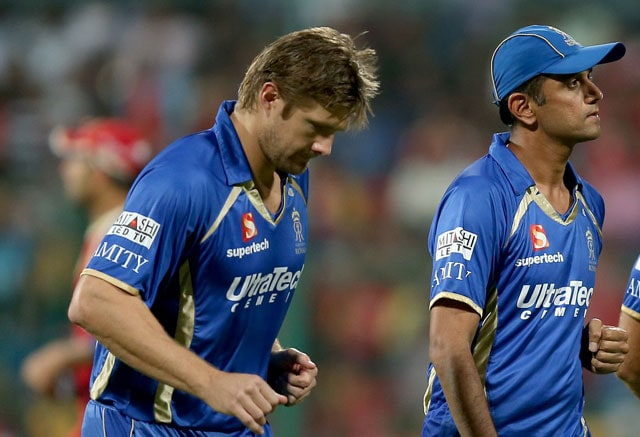 Live cricket score, Shane Watson