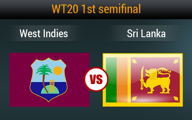 Live cricket score, West Indies vs Sri Lanka