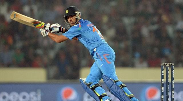 Live cricket score, Yuvraj Singh