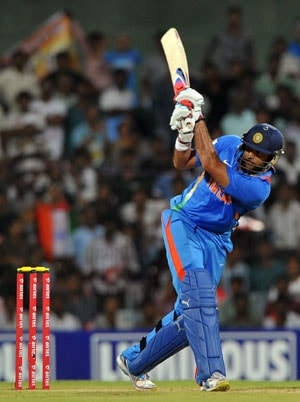 India vs Australia Live Cricket Score: Yuvraj Singh