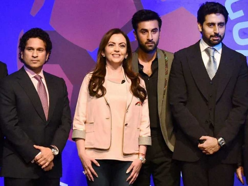 Abhishek Bachchan Unveiled as Indian Super League's Chennai Franchise Owner