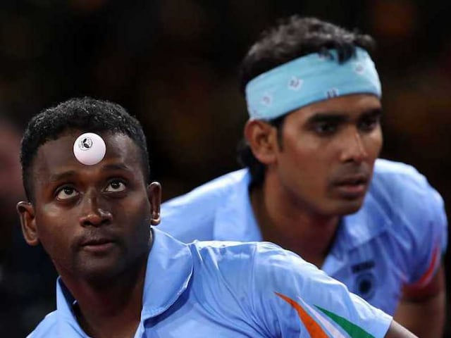 Asian Games Table Tennis: Indian Mens Doubles Teams in Pre-Quarters