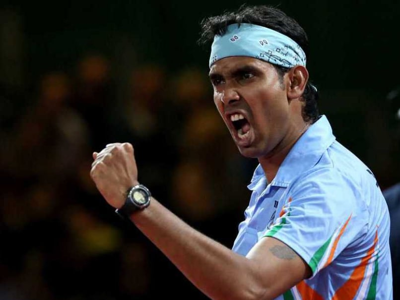 Sharath Kamal Reaches Career-Best No.32 in Table Tennis Rankings