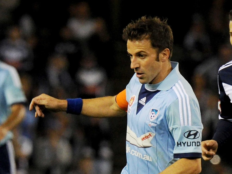 Alessandro Del Piero Begins ISL Journey With Press Conference in Parking Area
