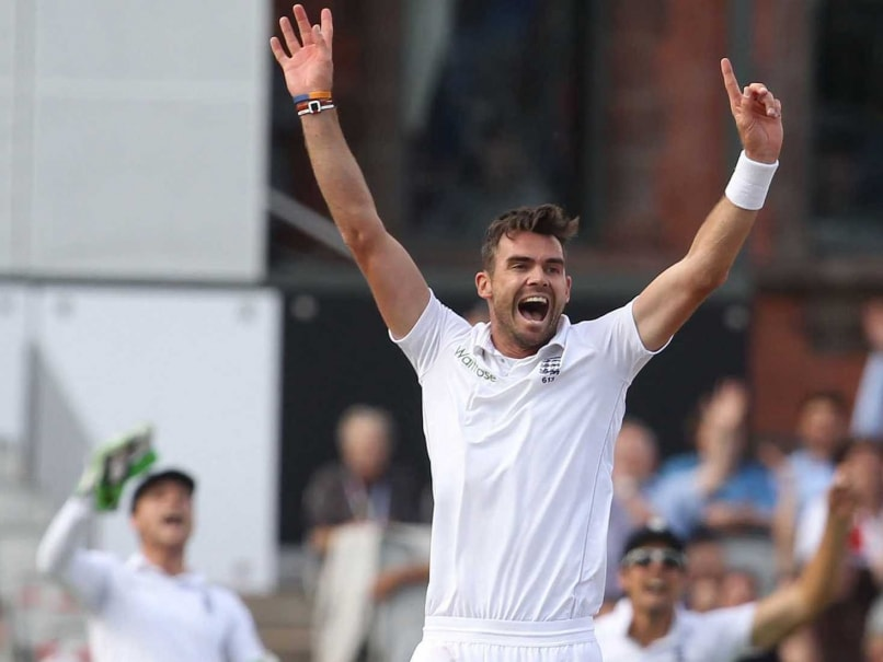 James Anderson At Par With World No 1 Dale Steyn England Captain Alastair Cook