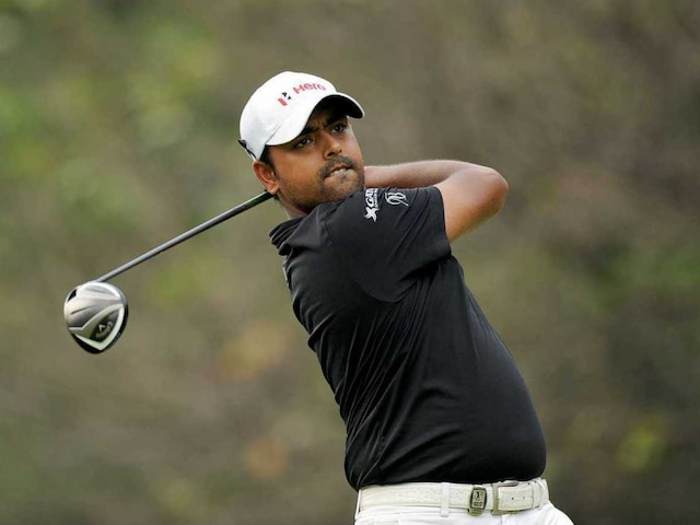 Anirban Lahiri Tied-Ninth After Second Round at World Golf Championship