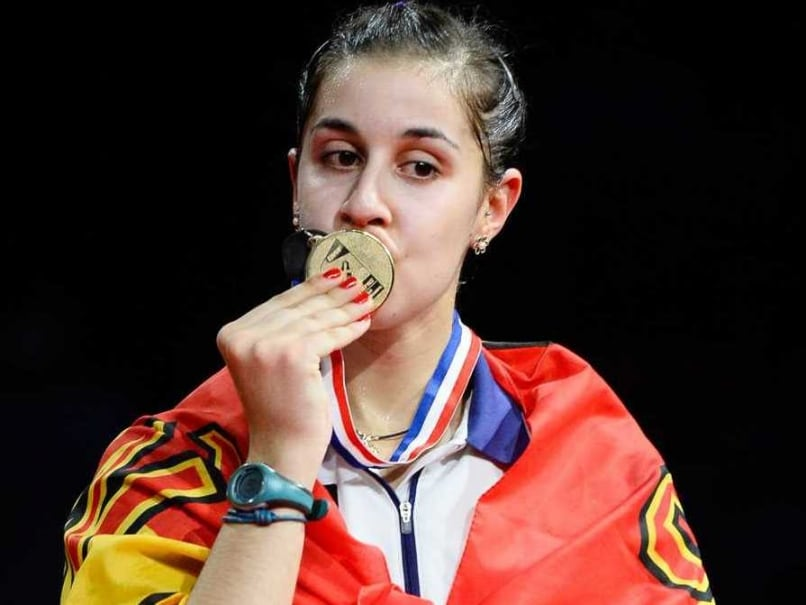 Spain's Carolina Marin Stuns World No.1 Li Xuerui to Win World Championship Title