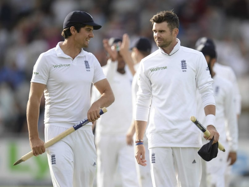 England vs India: Alastair Cook Hails 'Amazing' James Anderson