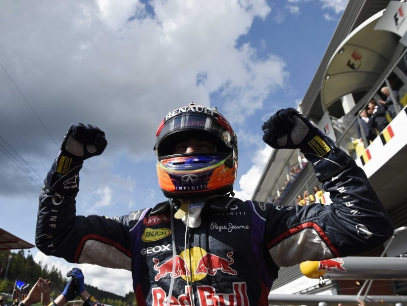 Daniel Ricciardo Wins Belgian GP, Nico Rosberg Finishes Second