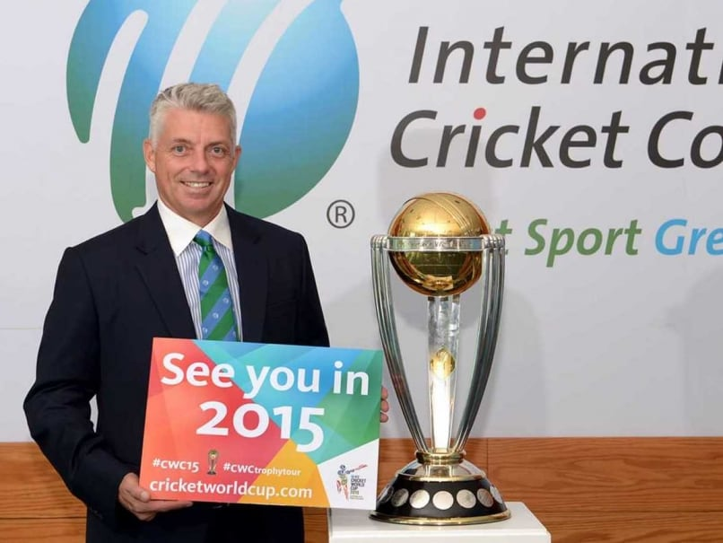 ICC Chief Executive David Richardson Pleased With World Cup 2015 Preparations