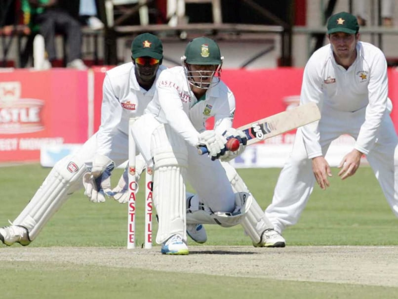 One-Off Test: Faf du Plessis, Quinton de Kock Give South Africa 141-Run Lead vs Zimbabwe