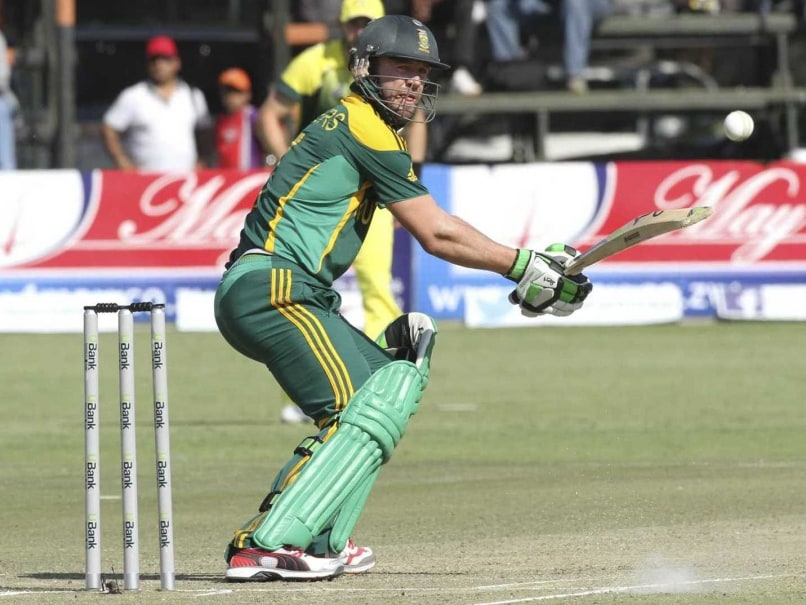 AB de Villiers Backs South Africa's Depth as they Take on New Zealand