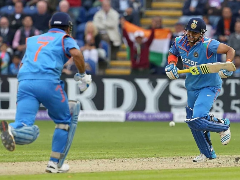 Mahendra Singh Dhoni and Suresh Raina Floor England with ...