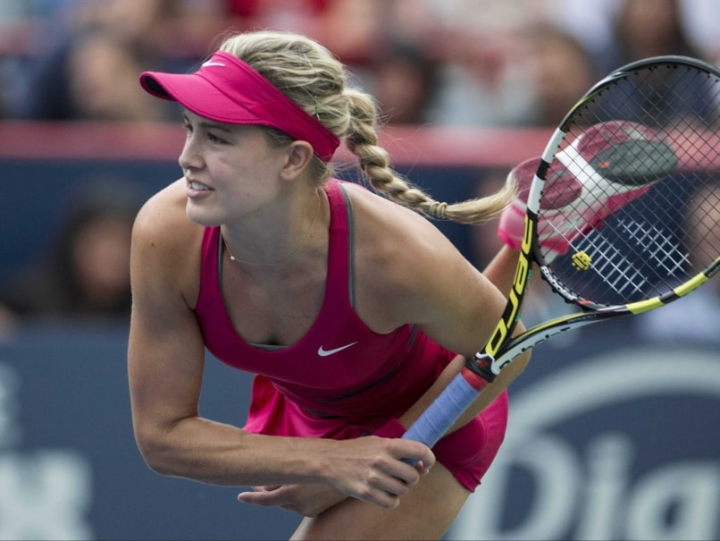 Top-Seeded Eugenie Bouchard Wins Opener at Linz